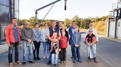 Teilnehmer der September-Führung