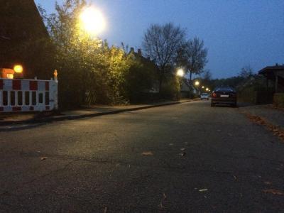 Foto zur Meldung: Erneuerung der Straßenbeleuchtung in der Marinesiedlung – Es geht los!
