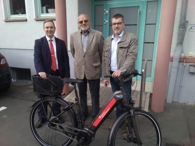 Benjamin Regenbogen, Alfred Schäfer, Volker Ullrich (von links)