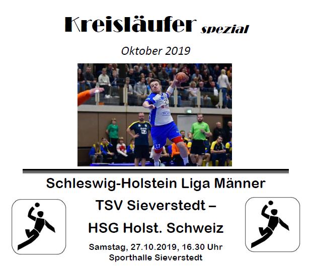 Vorschaubild der Meldung: Spiel der Männer 1 gegen HSG Holsteinische Schweiz