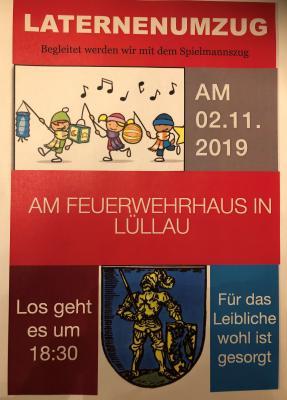 Bild der Meldung: Laternenumzug in Lüllau