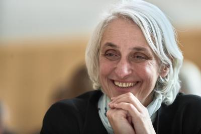 Inspirierende Frau: Ursula Bassler (Credits: © 2018 CERN)