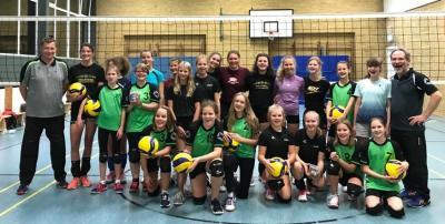 Foto zur Meldung: Volleyball - Nachwuchs des TuS Lintorf 08 zu Gast