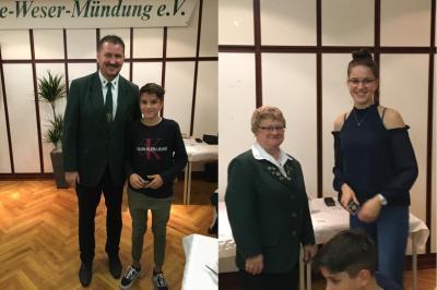Die erfolgreichen Geschwister Sina und Sören Meinking