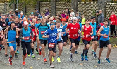 Foto zur Meldung: Greifswalder Athleten siegten beim 26. Stralsunder Hochschullauf Starker Gegenwind auf den längeren Strecken