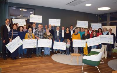 Foto zur Meldung: DLRG Nauheim/Trebur und der GZV Nauheim gehören zu den Gewinnern des eprimo-Sponsoring-Wettbewerbs 2019