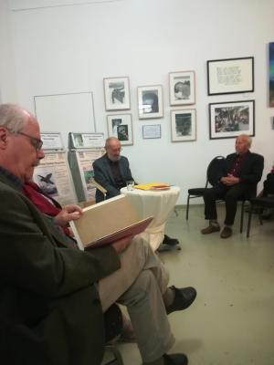"""Dr. Andreas Hüneke im """"Literarischen Salon"""""""