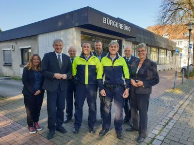 Foto zur Meldung: Vorstellung neuer Bezirksbeamter der Gemeinde Holzwickede