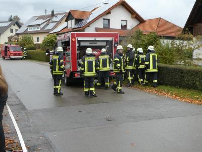 Feuerwehrhauptprobe am 19.10.2019