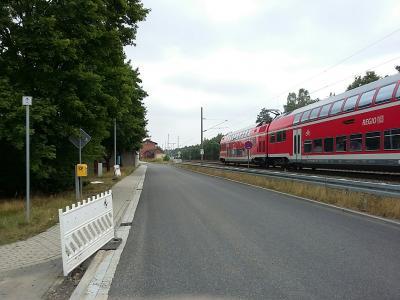 Vorschaubild zur Meldung: Bahnhofstraße Walddrehna ist wieder offen