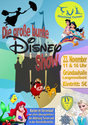 Vorschaubild zur Meldung: Die große bunte Disney-Show