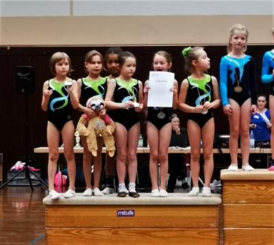 Foto zur Meldung: Tuju-Mannschaftswettkampf mit 2. Platz!