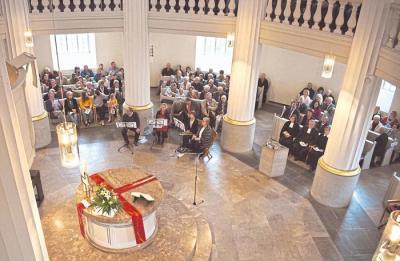 Foto zur Meldung: Festgottesdienst und Empfang zum 200-jährigen Jubiläum der Rundkirche in Oberneisen