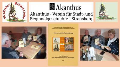 Foto zu Meldung: Publikation im Fontanejahr in der Heimatstube erschienen