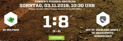Vorschaubild zur Meldung: [SGW A] Unterirdische erste Hälfte zerstört alle Hoffnungen auf Erfolg gegen Gnaschwitz/Oberland