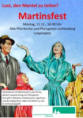 Vorschaubild zur Meldung: Martinsfest in der Alten Pfarrkirche