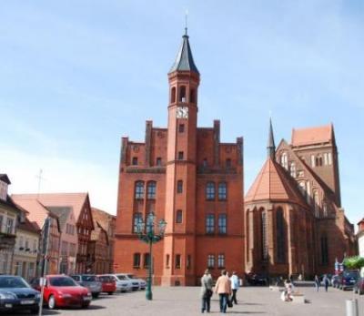 Stadt Perleberg | Blick auf das Perleberger Rathaus