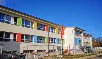 "Foto zu Meldung: Baumaßnahmen in der KITA ""Käthe Kollwitz"""