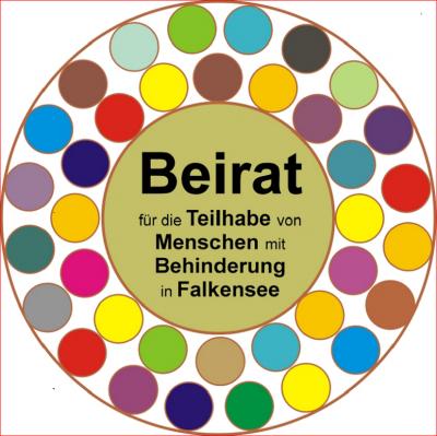 Unser Bild zeigt das Logo des Beirates für die Teilhabe von Menschen mit Behinderung.