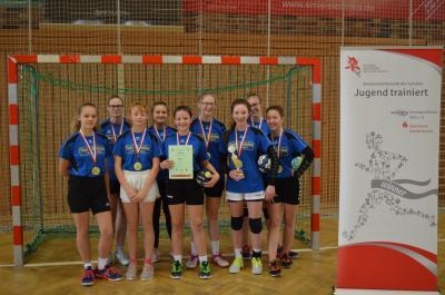 Vorschaubild zur Meldung: Kreisfinale Jugend trainiert Handball WK III m,w in Lübbenau