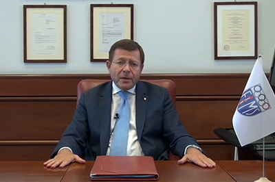 Bild der Meldung: FIMS-Präsident Pigozzi besorgt über zunehmenden Bewegungsmangel
