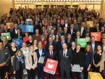 Die UNESCO-Projektschulen im Auswärtigen Amt.     © Deutsche UNESCO-Kommission