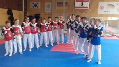 Foto zur Meldung: Neues von der Berliner Taekwondo Liga