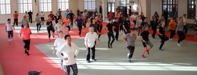 Vorschaubild zur Meldung: Landesfrauensportaktionstag in den Klinkerhallen