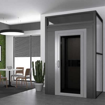 Unser stilvoller Homelift Monte Rosa eingebaut in einem Einfamilienhaus