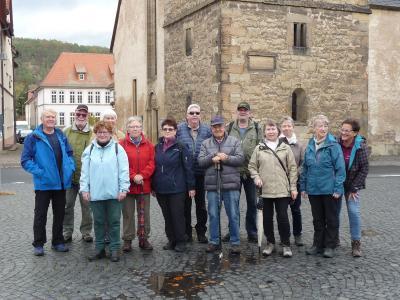 Vorschaubild zur Meldung: WTV Creuzburg/ Herbstwanderung um Creuzburg