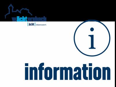 Vorschaubild zur Meldung: Wächtersbacher Behindertenbeauftragter Achim Freund bietet am 20. November 2019 ab 14:00 Uhr im Rathaus Wächtersbach seine Beratung an