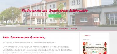Webseite des Fördervereins