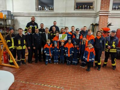 Foto zur Meldung: Wettkampfbahn für unsere Feuerwehr-Jugend