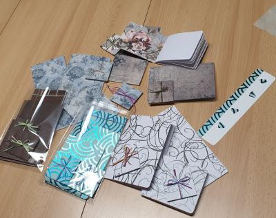 Vorschaubild zur Meldung: Papierworkshop im Familienzentrum Alheim