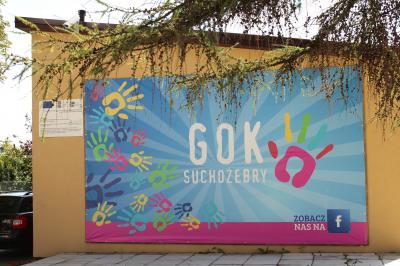 """Jugendclub """"GOK"""" in der Partnergemeinde Suchozebry"""