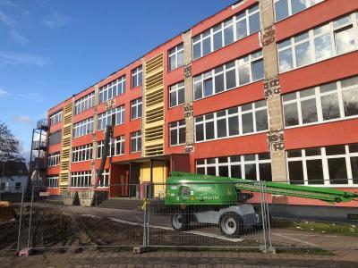 Vorschaubild zur Meldung: Umbauarbeiten auf dem Schul-Campus schreiten voran