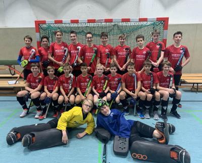 Foto zur Meldung: Hallenstart der Jugendteams