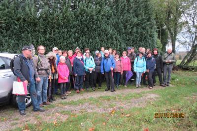 Foto zur Meldung: Herbstwanderung nach Bickenbach