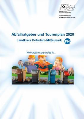 Vorschaubild zur Meldung: Abfallratgeber und Tourenplan 2020 gehen in den Versand