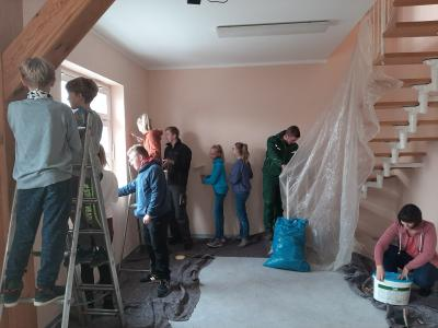 Vorschaubild zur Meldung: Förderung der 48-Stunden-Aktion des LDS für Jugendclub Goßmar