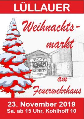 Bild der Meldung: Lüllauer Weihnachtsmarkt 2019 | 23.11.2019