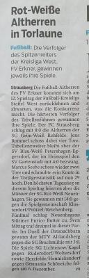 Foto zur Meldung: Abteilung Fußball: Artikel der MOZ