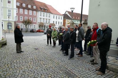 Vorschaubild zur Meldung: Gedenken an die Opfer der Reichspogromnacht