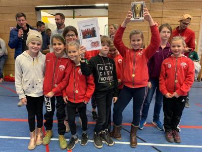 Foto zur Meldung: Mädchen C werden Zweite bei der Ramba Wamba Trophy in München