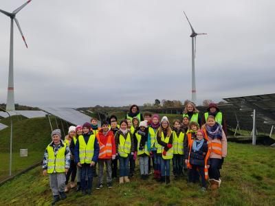 Vorschaubild zur Meldung: Besuch des Bioenergieparks in Saerbeck