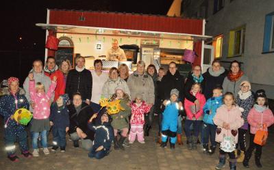 Lichterfest in der Kita Zwergenparadies Zielitz