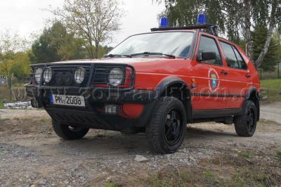 Foto zur Meldung: Gemeinde verkauft Feuerwehr-Golf