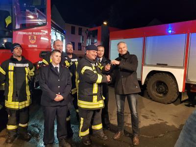 Foto zur Meldung: Neues Tanklöschfahrzeug für die Feuerwehr Ostrau