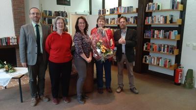 Foto Wiedereröffnung Bücherei