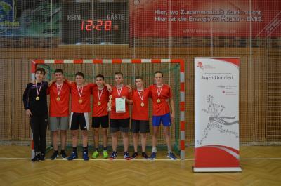 Vorschaubild zur Meldung: Kreisfinale Jugend trainiert Handball WK II m,w in Lübbenau
